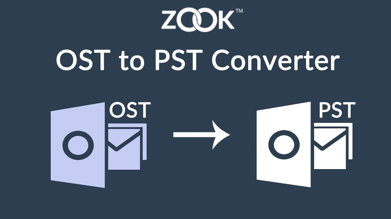 OST to PST Converter to Convert OST to PST without Outlook