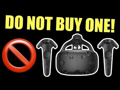 DON'T BUY A HTC VIVE