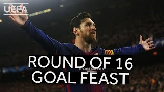 ALL OF MESSI'S ROUND OF 16 GOALS!