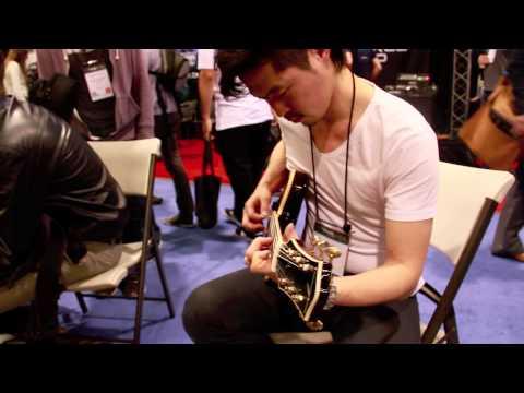 【NAMM】Nittono Guitar【Demo】