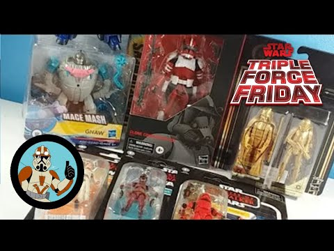 Triple Force Friday Haul And Unboxing LIVE!