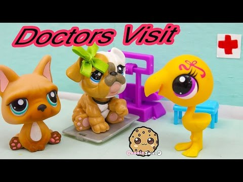 LPS Mommies Series Littlest Pet Shop - Doctor Office Visit - Part 63 Cookieswirlc Video