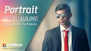 Dramatic Portrait Effects - Photoshop Tutorial (PSD Box)