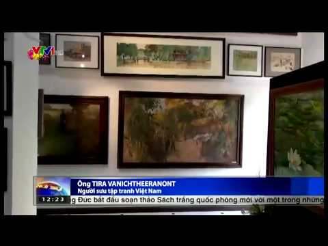 Precious Paintings on Ho Chi Minh by a Thai Collector