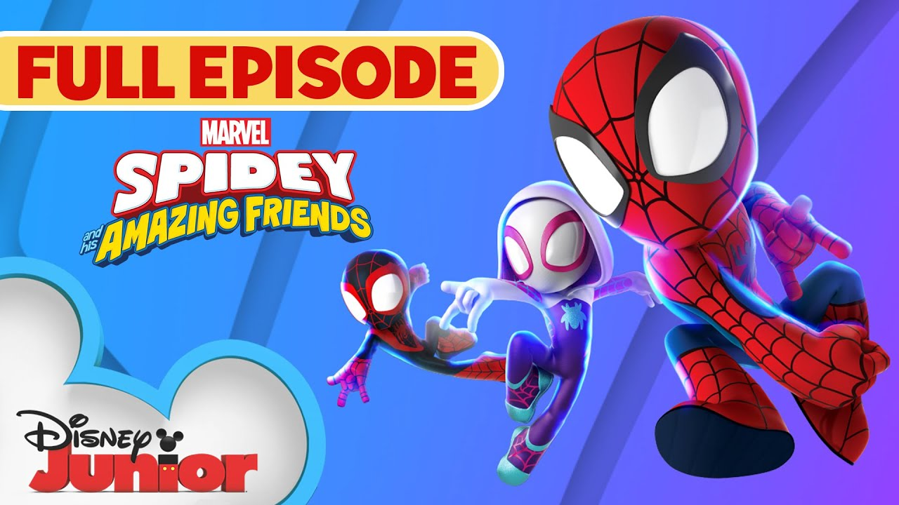Download Spidey To the Power of Three | Marvel's Spidey and His Amazing Friends | Full Episode  Disney Junior