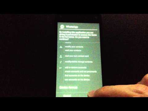 Install WhatsApp to your Amazon Fire Phone