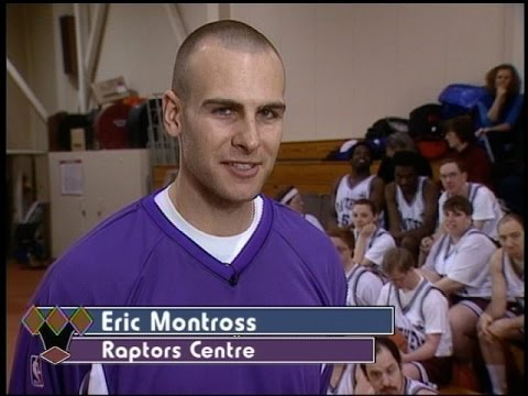Eric Montross with Special Olympic Athletes - OTH 191