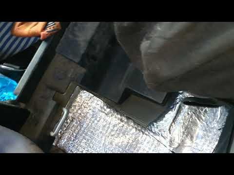 Как снять задние спинки сиденья Шевроле Авео Т 200