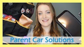 Omnitots Backseat Car Organizer & Mirror Review! | Allison's Journey