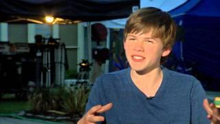 """Max: Josh Wiggins """"Justin Wincott"""" Behind the Scenes Movie Interview"""
