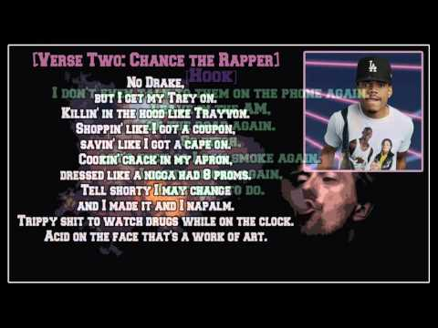 Chance the Rapper - Smoke Again (feat. Ab-Soul) [Lyric Video]