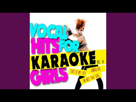 I'm Not That Girl (In The Style Of Kerry Ellis) (Karaoke Version)
