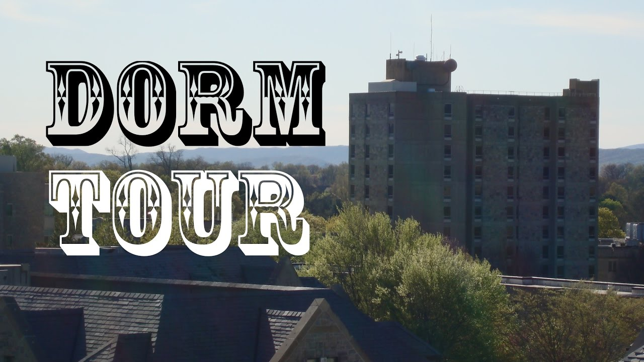ElevaTOURS Dorm Tour: Slusher Hall Dormitory Virginia Tech With Room Part 77