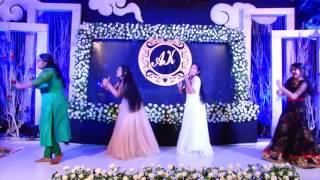 DANCE by cousins - ENGAGEMENT APARNA - KANNAN
