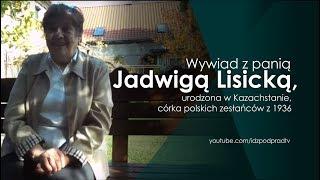 Wywiad z panią Jadwigą Lisicką, urodzona w Kazachstanie, córka polskich zesłańców z 1936 #ipptv