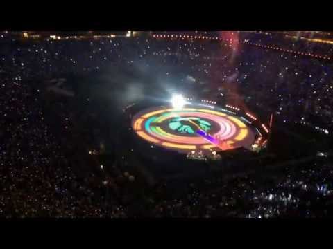 Katy Perry Super Bowl 49 Full Halftime Time Lapse