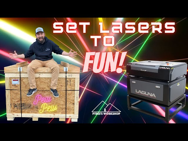 Laguna PL 12|20 Laser Unboxing / Assembly / First impressions