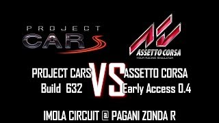 [PC]PROJECT CARS(Build 632) vs ASSETTO CORSA(Early Access 0.4) with Fanatec CSW