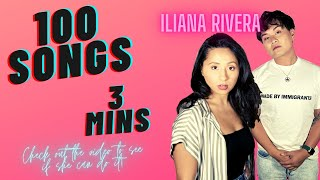 OUR 4TH SINGER! LATINA SONGSTRESS & ACTRESS ILIANA RIVERA! HOW MANY SONGS CAN SHE GET THROUGH??