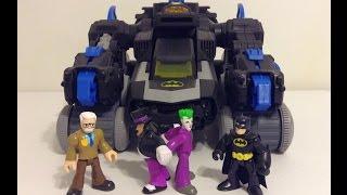 Imaginext Batman vs the Joker and Penguin (Super Heroes Fight)