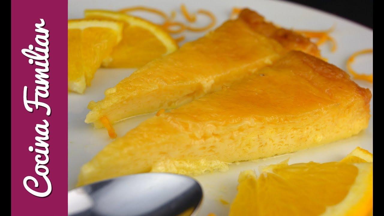 Download Flan de naranja con caramelo casero paso a paso   Recetas de Javier Romero