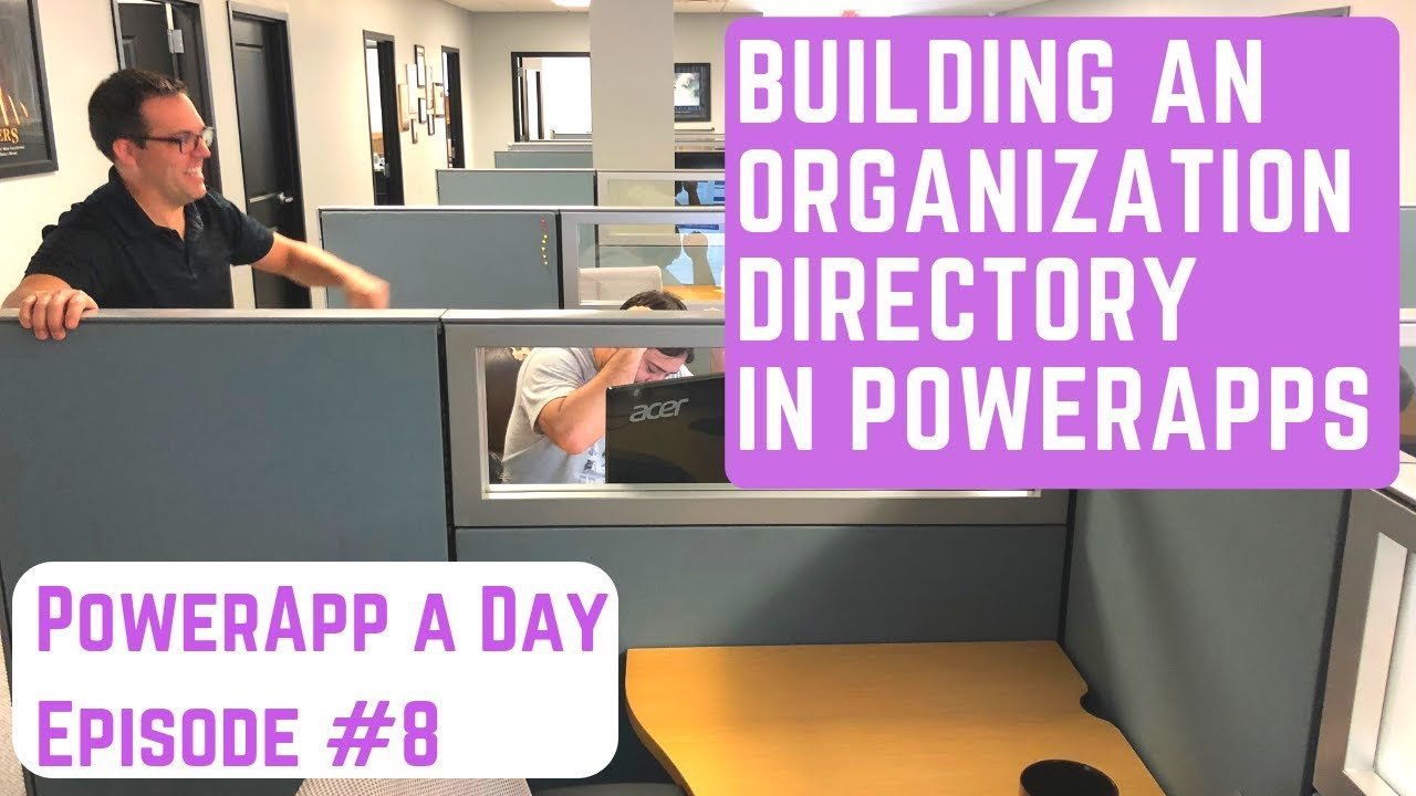 Search an Employee Directory in PowerApps w/ the