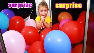 Baloane in Cabina de DUS   Melissa Cauta Surprizele intre Baloane