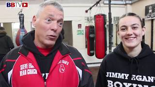 JIMMY EGAN'S BOXER COURTNEY McCARTHY: ENTERS ABA ELITES AT JUST 18