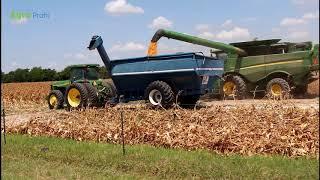 Żniwa kukurydziane w USA