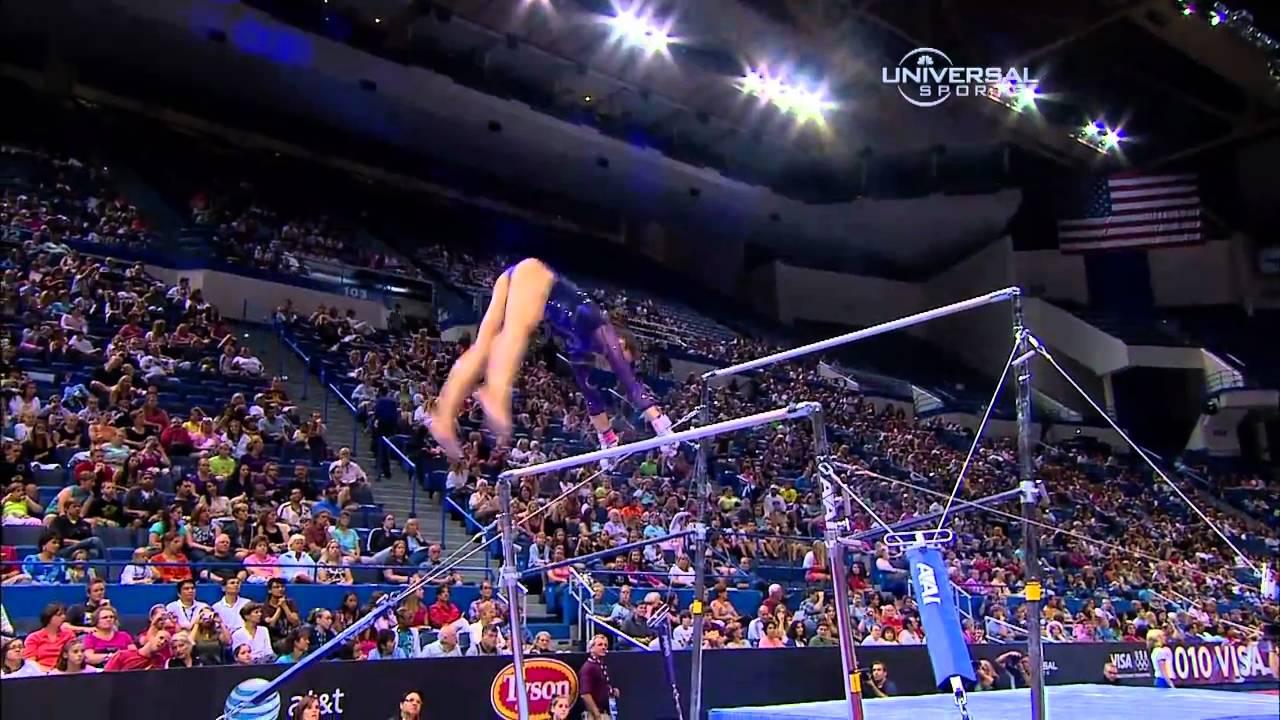 Alexandra Raisman - Uneven Bars - 2010 Visa Championships - Women - Day 1