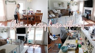 ULTIMATE CLEAN WITH ME 2018 | Cleaning My Messy House! | Extreme Cleaning Motivation