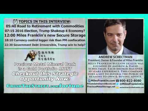 If Trump Wins, Gold & Silver go Up, Economy more Free   Andrew Schectman Interview
