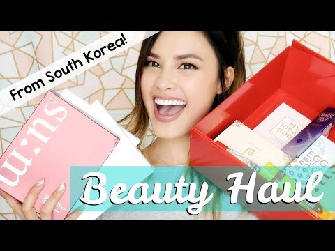 My Beauty Haul from Seoul, South Korea | Chatty Edition!