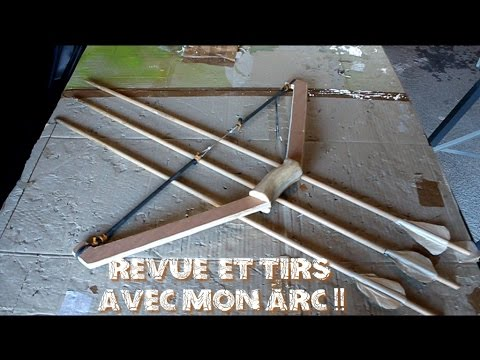 fabriquer un arc en bois revue et tirs du kryptek x bow youtube. Black Bedroom Furniture Sets. Home Design Ideas
