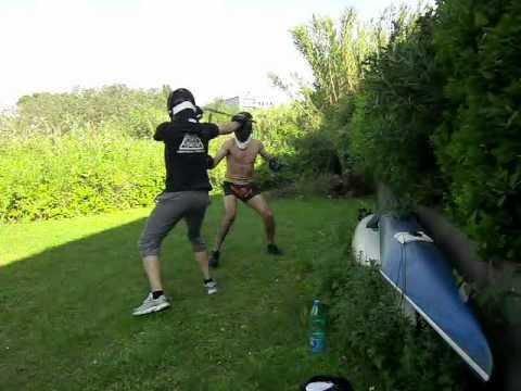 Escrima sparring