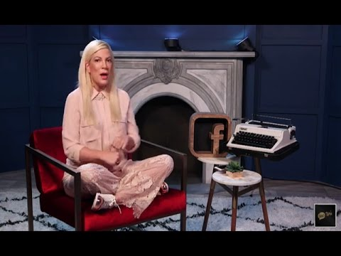 Tori Spelling was live kicking off her new Facebook Live series Dear Toria