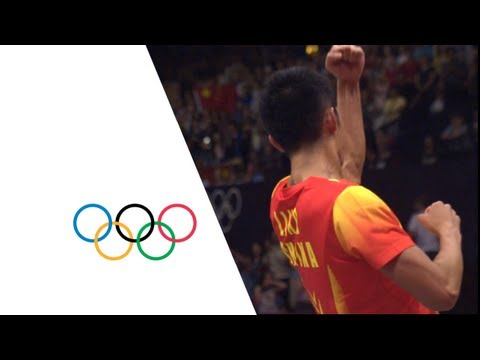 Lin Dan CHN v Lee Chong Wei MAS  Men's Badminton Singles Final  London 2012 Olympics