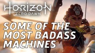 Some Of Horizon Zero Dawn's Most Badass Enemies