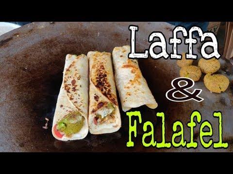 Best Indian Street Food | Laffa and Falafel | לאפה ופלאפל Indian Street Food | Food in Pushkar