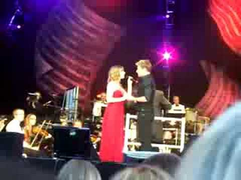 Duncan James and Hayley Westenra - I Believe My Heart - The Woman in White - ALW Bday in Hyde Park, full song
