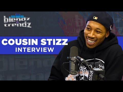 Nyla Symone - Cousin Stizz Talks Tom Brady Co-Sign + Being Tricked Into Smoking Weed