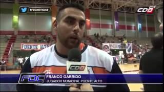 Franco en Fabrica de Campeones Municipal Puente Alto derrota a Colo Colo 82-68