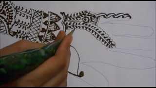 Learn Basic Indian Henna  Mehndi-Mehendi Tattoo Class Thumbnail