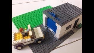 LEGO - Como Construir uma Garagem de Lego