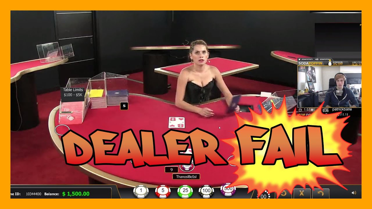 Blackjack live dealer free