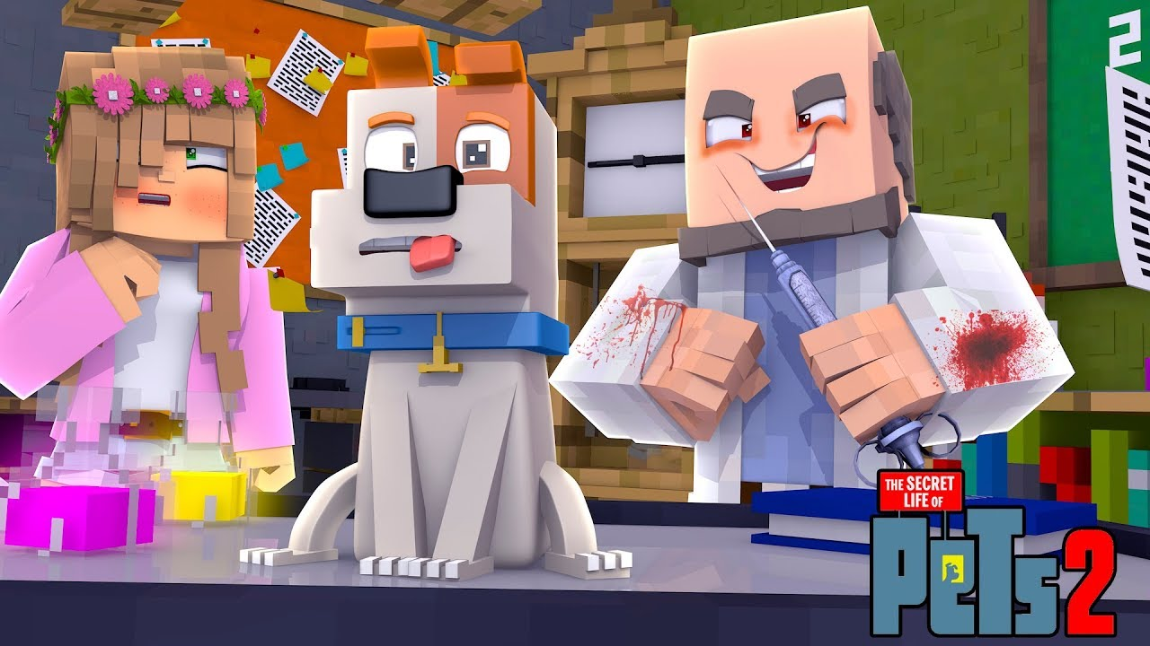 MY TALKING PET IS EXPERIMENTED ON! | Minecraft Secret Life of Pets | Little Kelly