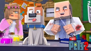 MY TALKING PET IS EXPERIMENTED ON! | Minecraft Secret Life of Pets | L
