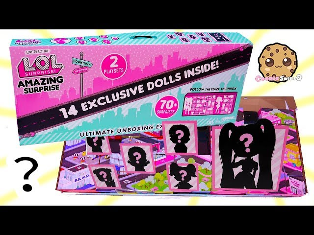 Lol  surprise dolls Set with accessories includes 14 dolls and  Over 70 boxes