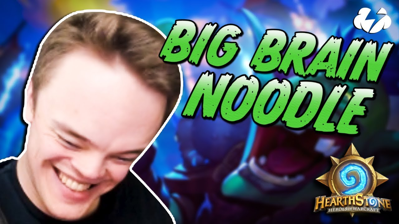 Big Brain Noodle Hearthstone Stream Highlights Youtube