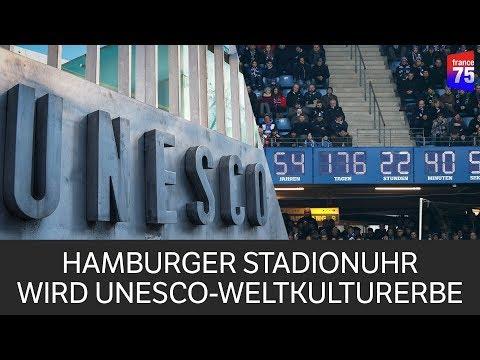 HSV-Stadionuhr wird UNESCO-Weltkulturerbe